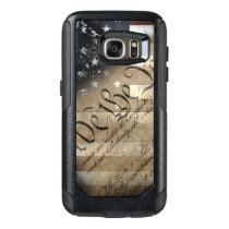 We The People Vintage American Flag OtterBox Samsung Galaxy S7 Case