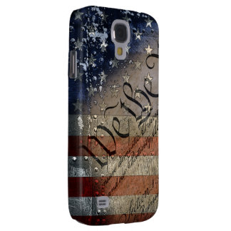 We The People Vintage American Flag Samsung Galaxy S4 Cover