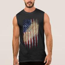 We The People Vintage American Flag Sleeveless Shirt