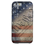 We The People Vintage American Flag Tough iPhone 6 Case