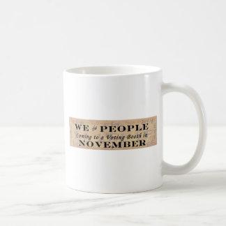 We the People w/colonial flags Coffee Mug
