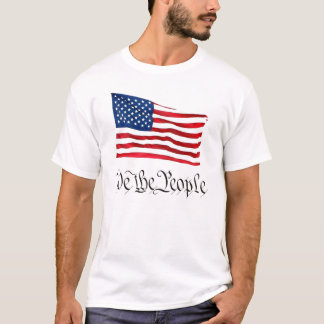 'We The People' w/Flag T-Shirt