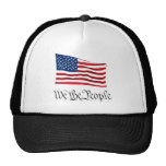 'We The People' w/Flag Trucker Hat