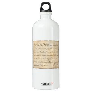 We the Pit Bulls... Aluminum Water Bottle