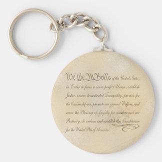 We the Pit Bulls... Basic Round Button Keychain