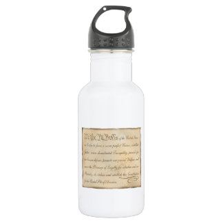 We the Pit Bulls... Stainless Steel Water Bottle
