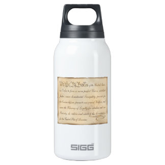 We the Pit Bulls... Thermos Water Bottle