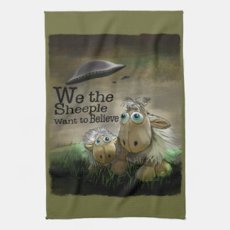 We the Sheeple American MoJo Kitchen Towels