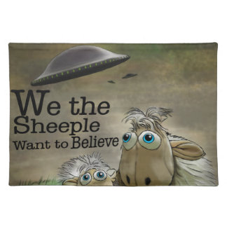 We the Sheeple American MoJo Placemats