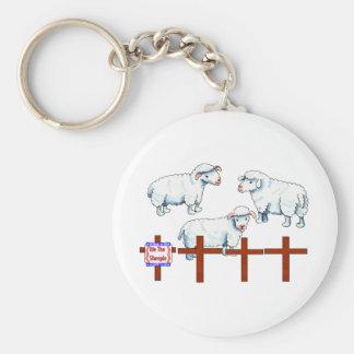 We The Sheeple Keychain