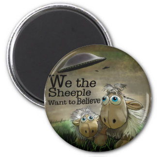 We the Sheeple Magnet