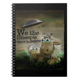 We the Sheeple Notebook