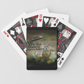 We the Sheeple Playing Cards