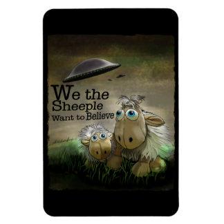 We the Sheeple Premium Flexi Magnet