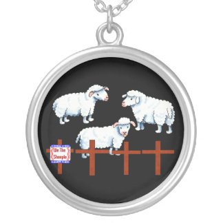 We The Sheeple Round Pendant Necklace