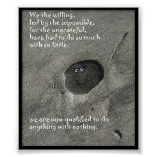 We The Willing Posters