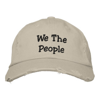 We ThePeople  Distressed Chino Twill Cap