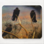We Three Crows Mouse Pads