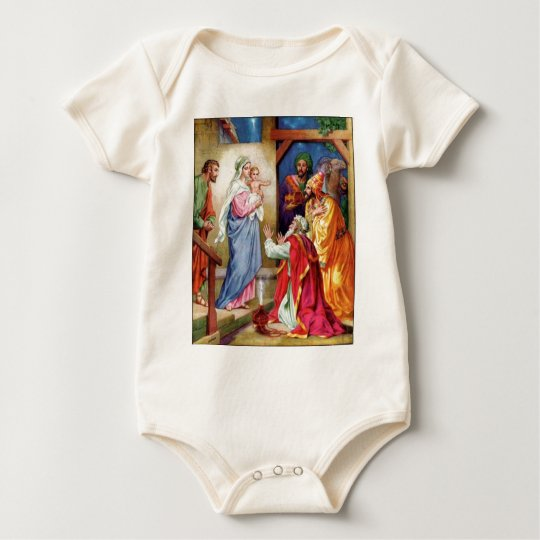 We Three Kings Baby Bodysuit