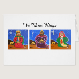 We Three Kings Card