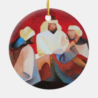 We Three Kings Ceramic Ornament