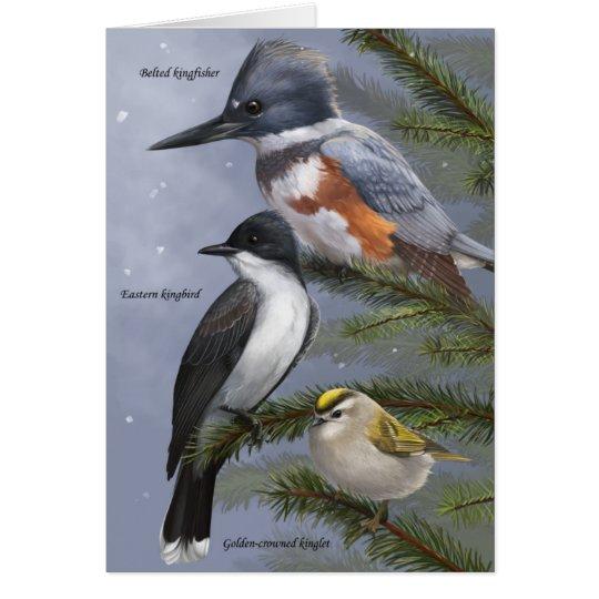 'We Three Kings' Holiday Bird Card