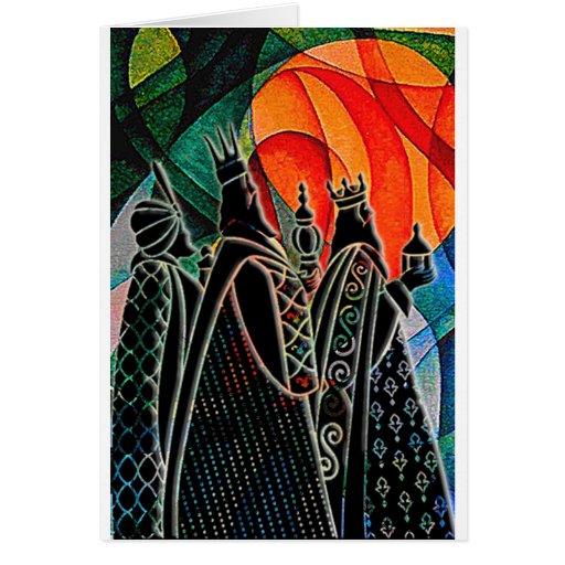 WE THREE KINGS.jpg Greeting Cards