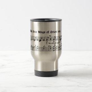 We Three Kings of Orient Are, Sheet Music Mug