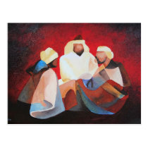 We Three Kings Postcard