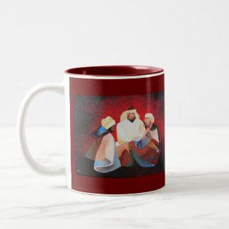 We Three Kings Two-Tone Coffee Mug