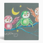 We Three Owls Binder