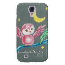 We Three Owls Samsung Galaxy S4 Cover