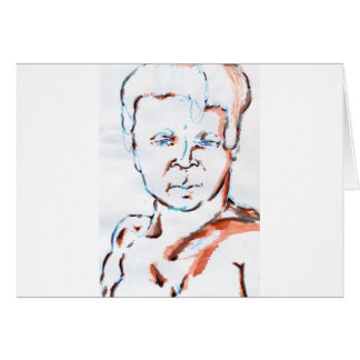 We Tone With The Brushes of our Hearts Greeting Card