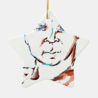 We Tone With The Brushes of our Hearts Ceramic Ornament