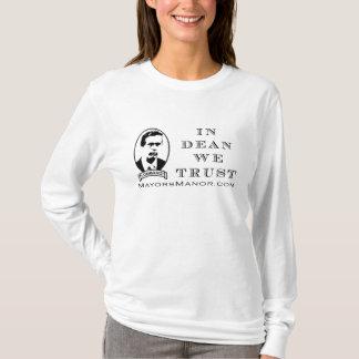 WE TRUST - Ladies Long Sleeve T-Shirt