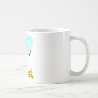 We try to ignor his tantrums coffee mug
