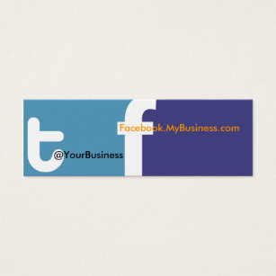Facebook logo for business card arts arts facebook logo business cards templates zazzle colourmoves