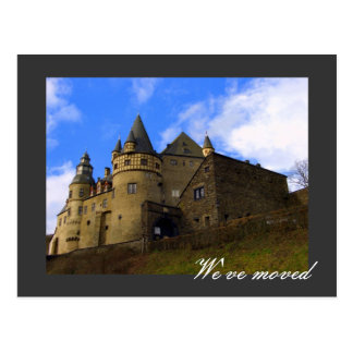 We ve moved - fully customizable post card