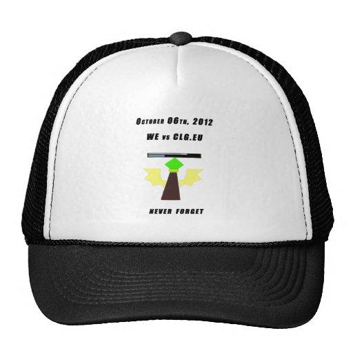 WE vs CLG.EU Mesh Hats