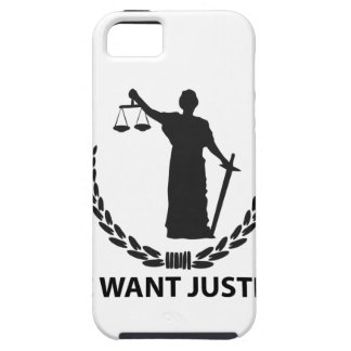 We Want Justice iPhone SE/5/5s Case