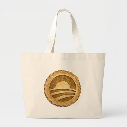 """We Want Pie!"" Obama Pie Bagob Canvas Bags"