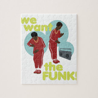 We Want The Funk Jigsaw Puzzle