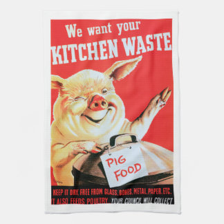 We Want Your Kitchen Waste Towel