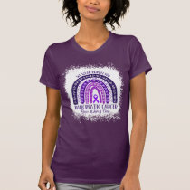 We wear purple for Pancreatic cancer T-Shirt