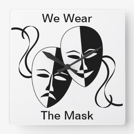 thesis we wear the mask The we in paul laurence dunbar's we wear the mask by 郭哲維 kuo, che-wei after reading many poems in the textbook, i finally decide to choose paul.