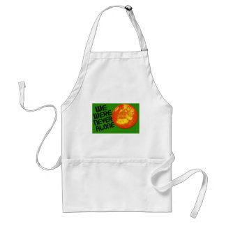 We Were Never Alone Adult Apron