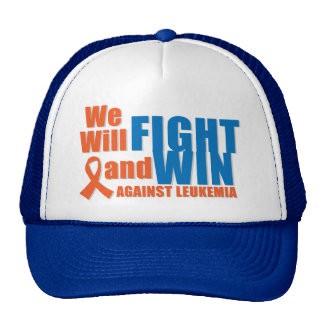 We Will Fight and Win Against Leukemia Trucker Hat