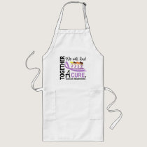 We Will Find A Cure Cancer Long Apron