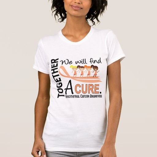 We Will Find A Cure Endometrial Cancer T-shirts