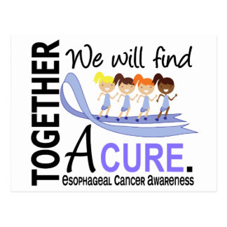 We Will Find A Cure Esophageal Cancer Postcard